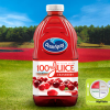 Cranberry juice blend, bottled, with added vitamin C and calcium