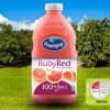 Ruby Red grapefruit juice blend (grapefruit, grape, apple), OCEAN SPRAY, bottled, with added vitamin C
