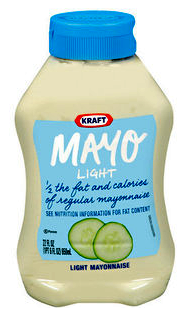 Elegant Salad Dressing, KRAFT Mayo Light Mayonnaise Facts  In U0026 Out Calorie Counter  | Calorie Food U0026 Exercise Diary Tracker Great Pictures