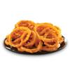 Onion rings, breaded, par fried, frozen, unprepared