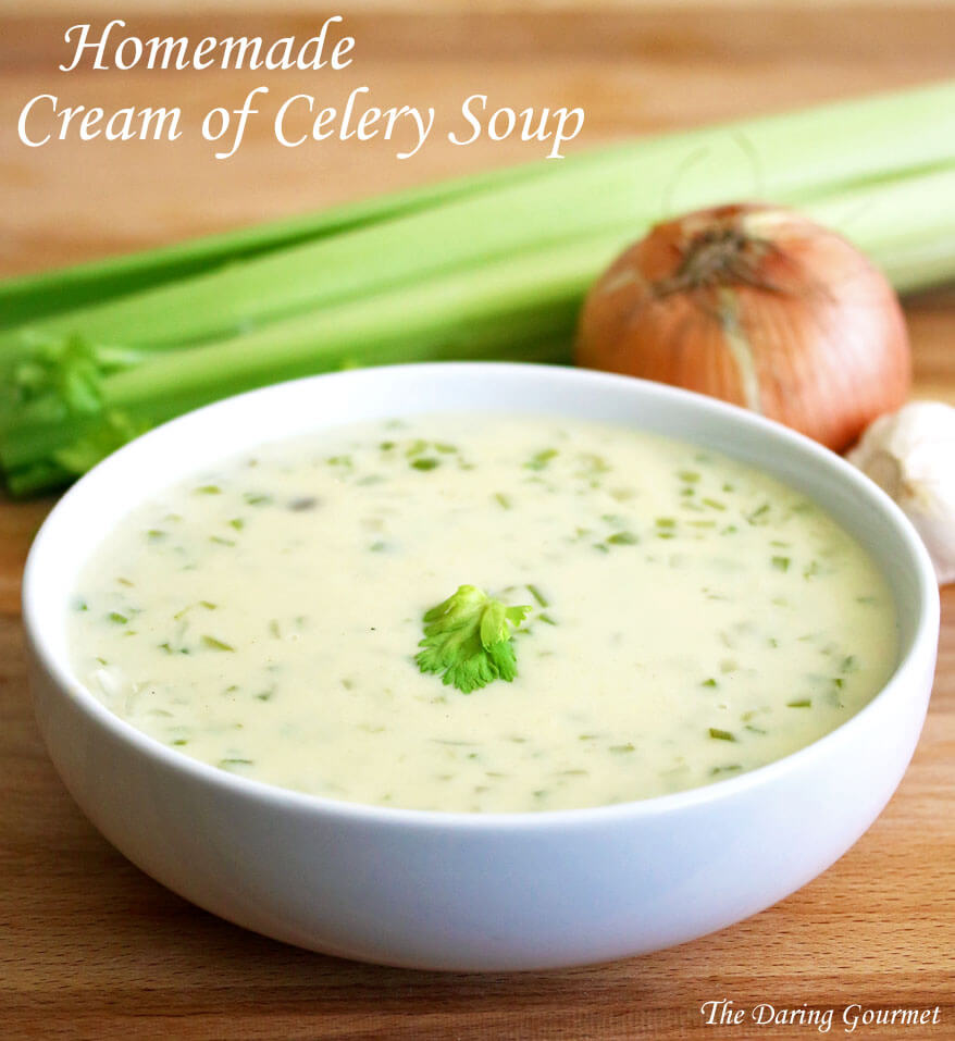 how to make low fat cream of celery soup